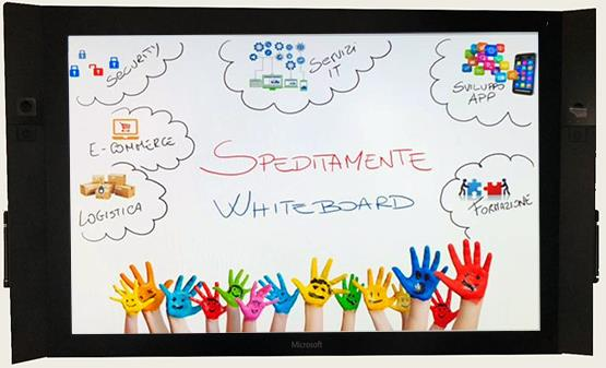 Whiteboard, la lavagna digitale di Microsoft